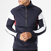 /achat-sweats-col-zippe/aarhon-sweat-demi-zippe-094-tricolore-bleu-marine-blanc-rouge-141734.html