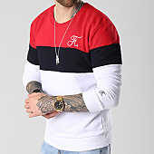 /achat-sweats-col-rond-crewneck/final-club-sweat-crewneck-tricolore-avec-broderie-060-blanc-bleu-marine-rouge-141838.html