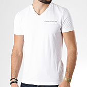 /achat-t-shirts/calvin-klein-tee-shirt-institutional-logo-stretch-7860-blanc-142006.html