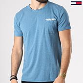 /achat-t-shirts-poche/tommy-hilfiger-jeans-tee-shirt-poche-melange-4561-bleu-clair-chine-142035.html