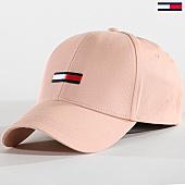 /achat-casquettes-de-baseball/tommy-hilfiger-jeans-casquette-flag-0142-rose-pale-142128.html