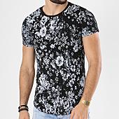 /achat-t-shirts-longs-oversize/classic-series-tee-shirt-oversize-39-noir-floral-142391.html