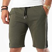 /achat-shorts-jogging/frilivin-short-jogging-avec-bandes-6796-vert-kaki-noir-142275.html