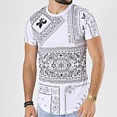 /achat-t-shirts-longs-oversize/john-h-tee-shirt-oversize-608-blanc-bandana-142378.html
