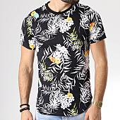 /achat-t-shirts-longs-oversize/uniplay-tee-shirt-oversize-g019-noir-floral-142394.html