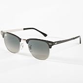 /achat-lunettes-de-soleil/ray-ban-lunettes-de-soleil-clubmaster-metal-3716-noir-argente-142530.html