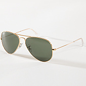 /achat-lunettes-de-soleil/ray-ban-lunettes-de-soleil-aviator-classic-3025-dore-142531.html