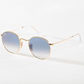 /achat-lunettes-de-soleil/ray-ban-lunettes-de-soleil-round-flat-lenses-3447n-dore-bleu-clair-142533.html