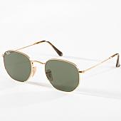/achat-lunettes-de-soleil/ray-ban-lunettes-de-soleil-hexagonal-flat-lenses-3548n-dore-142728.html