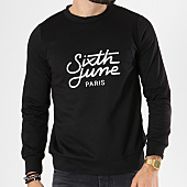 /achat-sweats-col-rond-crewneck/sixth-june-sweat-crewneck-m3479vsw-noir-142721.html