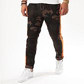 /achat-jogger-pants/brave-soul-jogger-pant-avec-bandes-havana-vert-kaki-camouflage-orange-142876.html