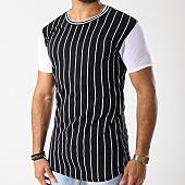 /achat-t-shirts-longs-oversize/classic-series-tee-shirt-oversize-baseball-noir-blanc-142812.html