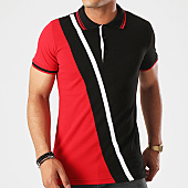 /achat-polos-manches-courtes/classic-series-polo-manches-courtes-2091-noir-blanc-rouge-142926.html