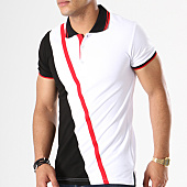 /achat-polos-manches-courtes/classic-series-polo-manches-courtes-2091-blanc-noir-rouge-142935.html