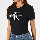 /achat-t-shirts/calvin-klein-tee-shirt-femme-core-monogram-logo-7878-noir-143182.html