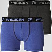 /achat-boxers/freegun-lot-de-2-boxers-ultra-soft-gris-anthracite-chine-bleu-roi-143020.html