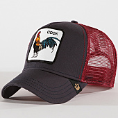 /achat-trucker/goorin-bros-casquette-trucker-cock-gris-anthracite-bordeaux-143060.html