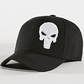/achat-casquettes-de-baseball/punisher-casquette-the-punisher-noir-blanc-143267.html