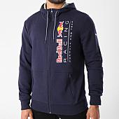 /achat-sweats-zippes-capuche/puma-sweat-zippe-capuche-red-bull-racing-573438-bleu-marine-143375.html