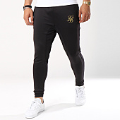 /achat-pantalons-joggings/siksilk-pantalon-jogging-athlete-12271-noir-dore-143374.html