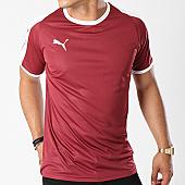 /achat-t-shirts/puma-tee-shirt-de-sport-liga-jersey-703417-bordeaux-blanc-143394.html