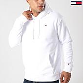 /achat-sweats-capuche/tommy-hilfiger-jeans-sweat-capuche-classics-4468-blanc-143399.html