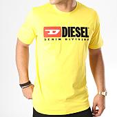 /achat-t-shirts/diesel-tee-shirt-just-division-00sh0i-0catj-jaune-143541.html