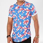 /achat-t-shirts-longs-oversize/uniplay-tee-shirt-oversize-up-t310-bleu-floral-143572.html