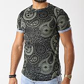 /achat-t-shirts-longs-oversize/uniplay-tee-shirt-oversize-up-t306-noir-vert-143573.html