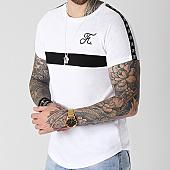 /achat-t-shirts-longs-oversize/final-club-tee-shirt-premium-fit-avec-bande-et-broderie-076-blanc-143641.html