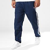 /achat-pantalons-joggings/adidas-pantalon-jogging-bandes-brodees-co-woven-dl8642-bleu-marine-blanc-143797.html