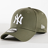New Era - Casquette League Essential New York Yankees 80636010 Vert Kaki 2e498bf672c
