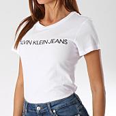 /achat-t-shirts/calvin-klein-tee-shirt-femme-7879-blanc-144262.html