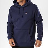 /achat-sweats-capuche/tommy-hilfiger-jeans-sweat-capuche-classics-4468-bleu-marine-144252.html
