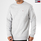 /achat-sweats-col-rond-crewneck/tommy-jeans-sweat-crewneck-classics-4469-gris-chine-144253.html