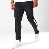 /achat-pantalons-carreaux/classic-series-pantalon-raye-a-bandes-p18010-gris-144313.html