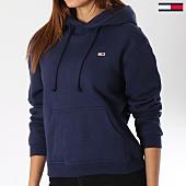 /achat-sweats-capuche/tommy-hilfiger-jeans-sweat-capuche-femme-classics-4530-bleu-marine-144264.html