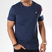/achat-t-shirts/le-coq-sportif-tee-shirt-ess-n5-1821310-bleu-marine-blanc-rouge-144531.html