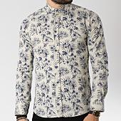 /achat-chemises-manches-longues/classic-series-chemise-manches-longues-16386-beige-floral-bleu-marine-144740.html