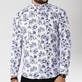 /achat-chemises-manches-longues/classic-series-chemise-manches-longues-16386-blanc-floral-bleu-marine-144749.html