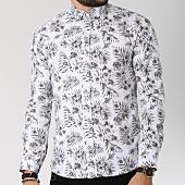 /achat-chemises-manches-longues/classic-series-chemise-manches-longues-16386-blanc-floral-vert-kaki-144751.html