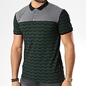 /achat-polos-manches-courtes/paname-brothers-polo-manches-courtes-s332-noir-vert-gris-chine-144705.html