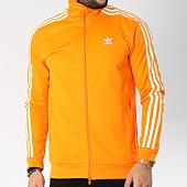 /achat-vestes/adidas-veste-zippee-bandes-brodees-beckenbauer-tt-dh5821-orange-blanc-144995.html