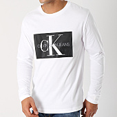 /achat-t-shirts-manches-longues/calvin-klein-tee-shirt-manches-longues-monogram-box-logo-7853-blanc-145109.html