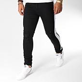 /achat-jeans/john-h-jean-slim-bande-brodee-p330-noir-blanc-145138.html