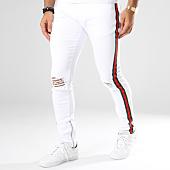 /achat-jeans/denim-lab-jean-slim-avec-bandes-13016-2-blanc-145365.html