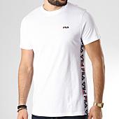 /achat-t-shirts/fila-tee-shirt-bande-brodee-talan-682362-blanc-145306.html