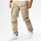 /achat-pantalons-cargo/g-star-pantalon-cargo-rovic-zip-3d-tapered-d02190-5126-beige-145503.html
