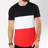 /achat-t-shirts-longs-oversize/mtx-tee-shirt-oversize-zips-3191-rouge-noir-blanc-145699.html