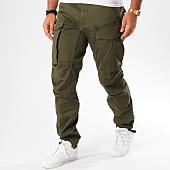 /achat-pantalons-cargo/g-star-pantalon-cargo-rovic-zip-3d-tapered-d02190-5126-vert-kaki-145784.html